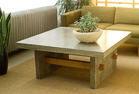images of Concrete Coffee Table