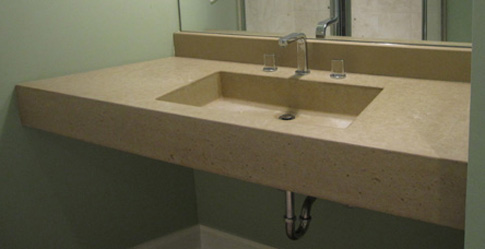 images of arc concrete bath room sink