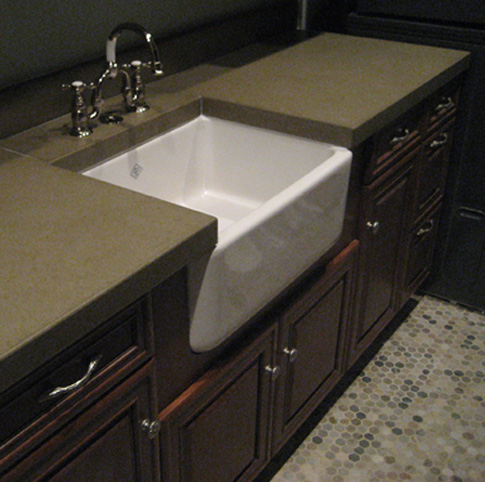 images of concrete countertop