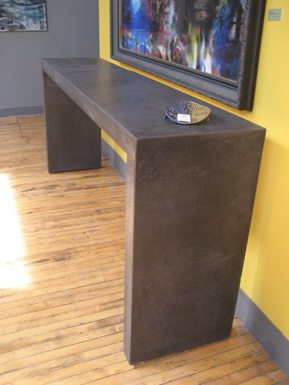 images of concrete table